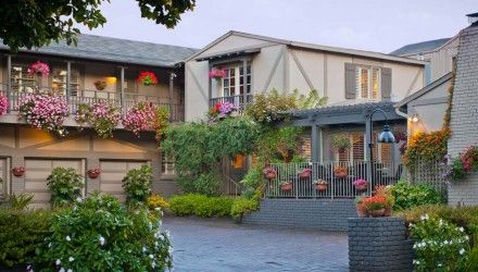 Carmel Country Inn Located In Carmel Ca A Bed And Breakfast Is A