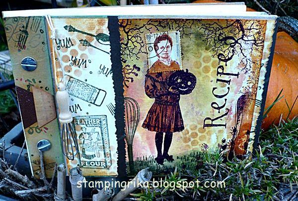 stamping rika: postage people