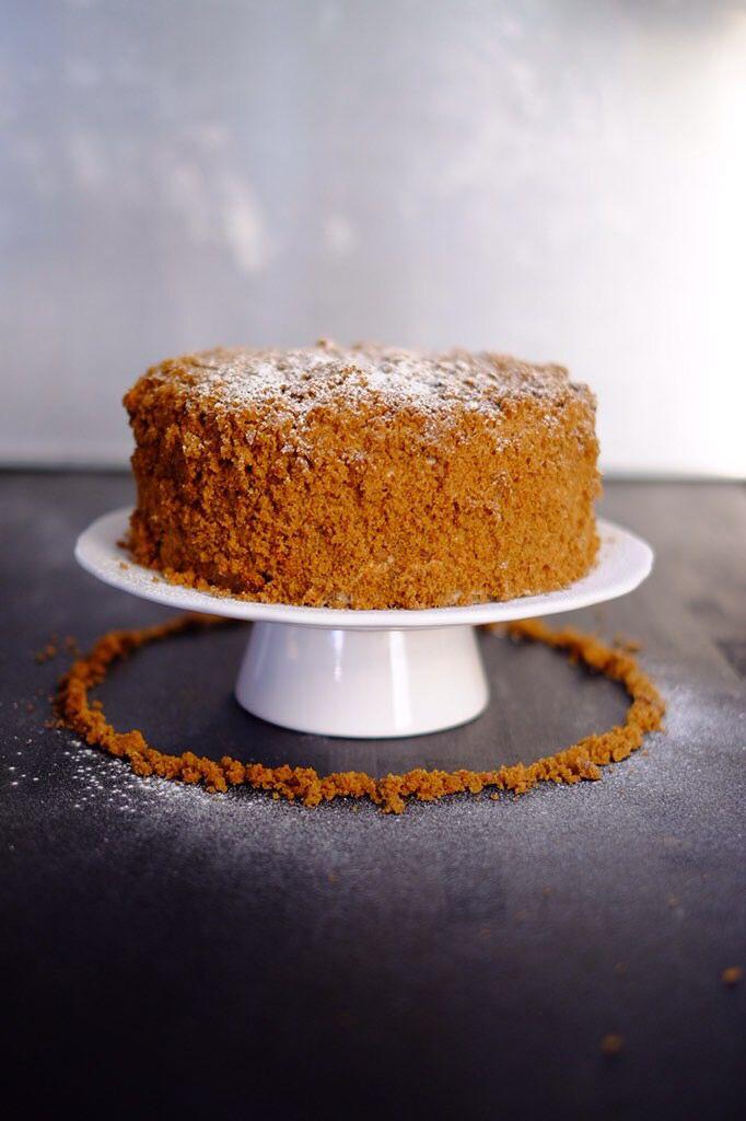 Gingerbread Latte Cake Showstopper Dessert Easy Bake Cake Christmas Baking Easy
