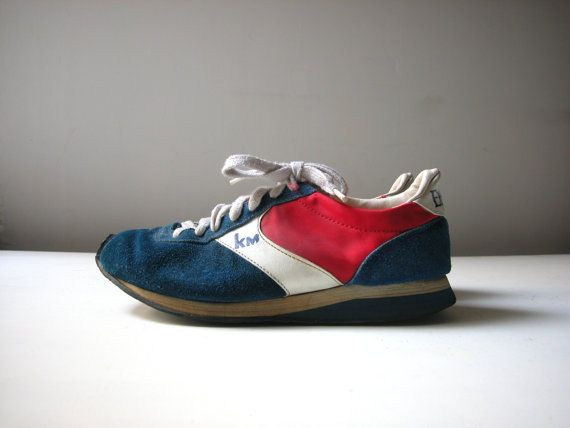 Vintage 80's Etonic KM Running s Shoes / Men's Size 6 / Women's ...