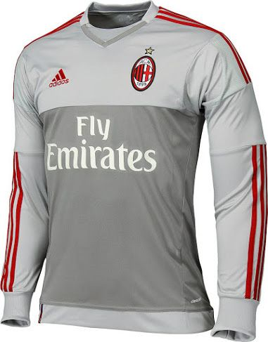 6ea19c61e72 AC MILAN 2015-16 GOALKEEPER KIT