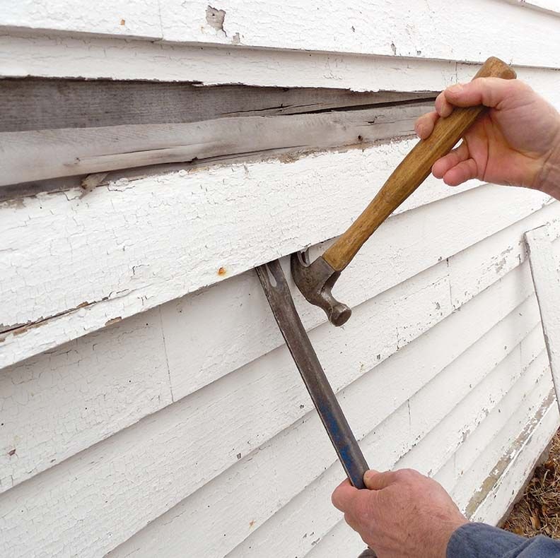 How to replace damaged clapboards clapboard clapboard