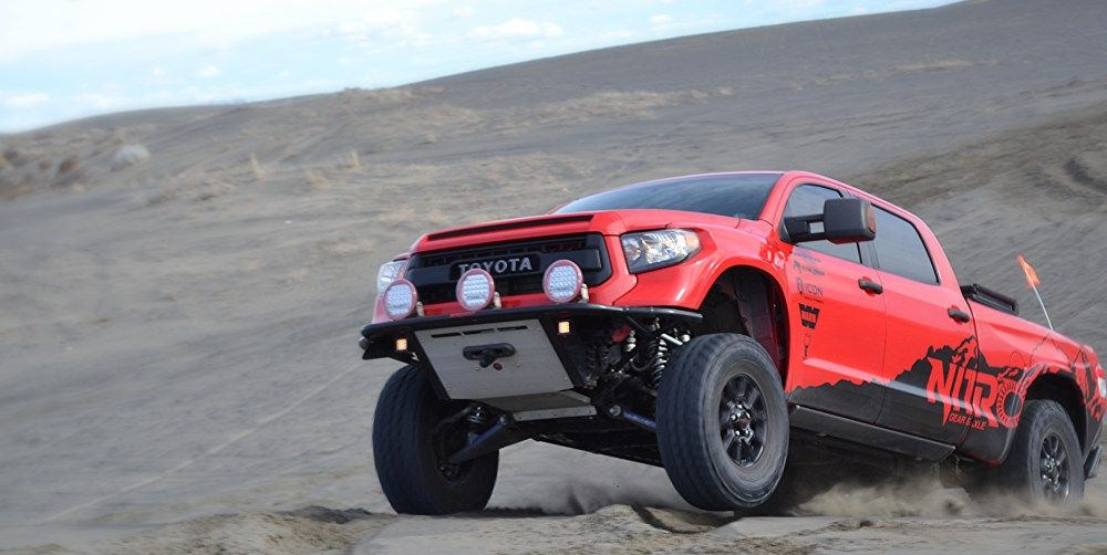 Nitro Gear Supercharged Long Travel Toyota Tundra More Than Trd