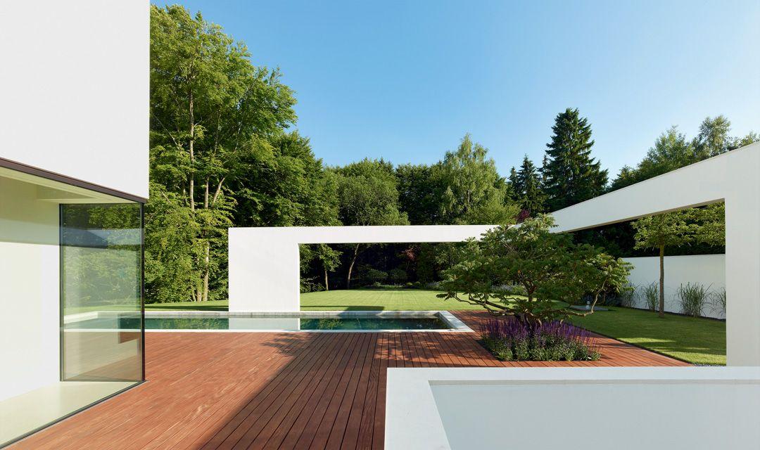 Titus Bernhard Architekten Wohnhaus Mit Pool