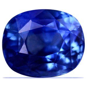 3.98 Carat Untreated Loose Sapphire Cushion Cut (GIA Certificate): $14,925.00 http://www.cybermarket24.com/category/jewelry/