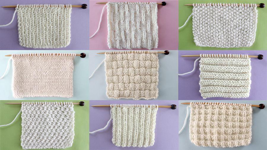 Knit And Purl Stitch Patterns Free Pattern Stitch And Tutorials