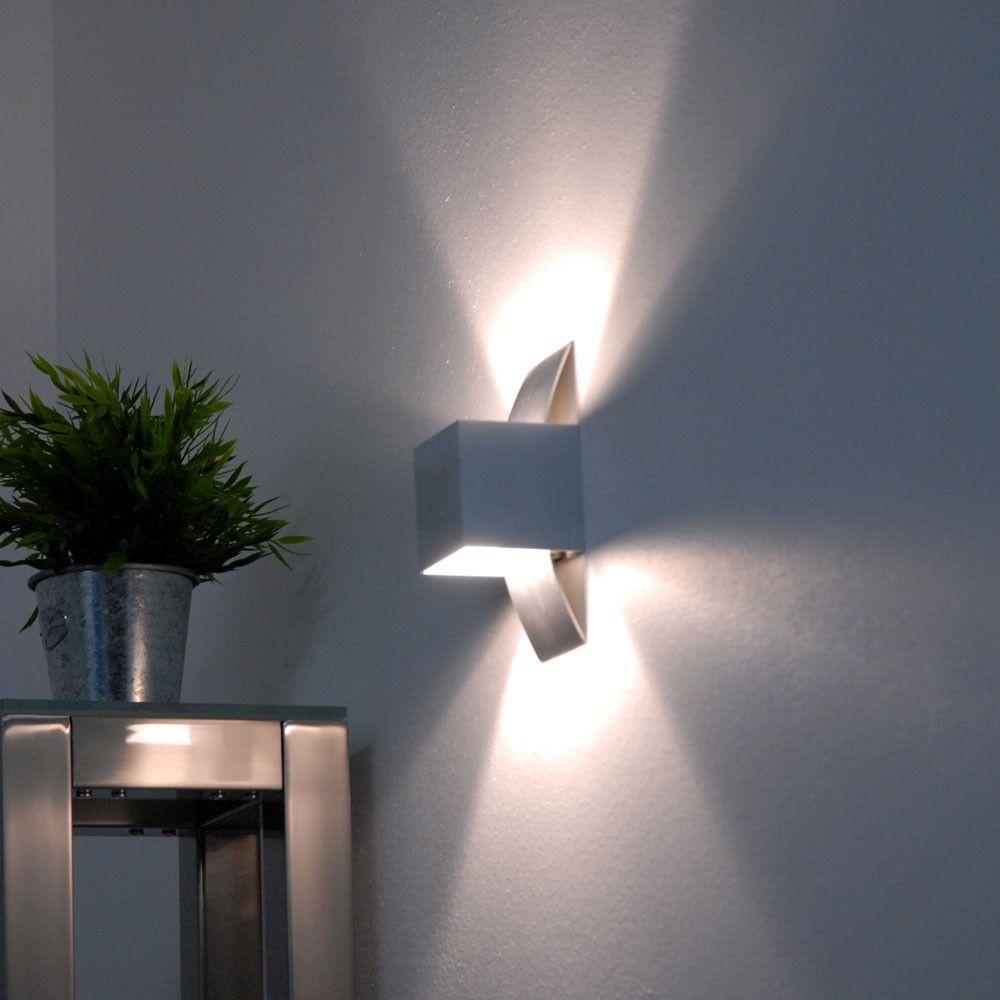 wandfluter led dimmbar top etime w led wandleuchte auen wandlampe wasserdicht mit einstellbar. Black Bedroom Furniture Sets. Home Design Ideas