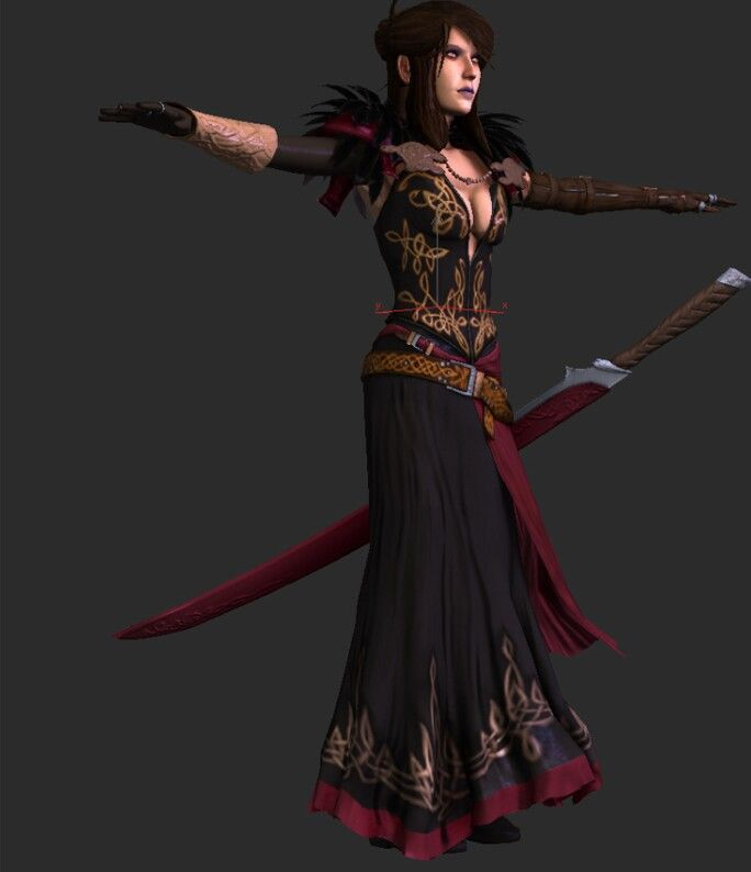 Morrigan mod outfit | Cosplay in 2019 | Dragon age, Cosplay, Art