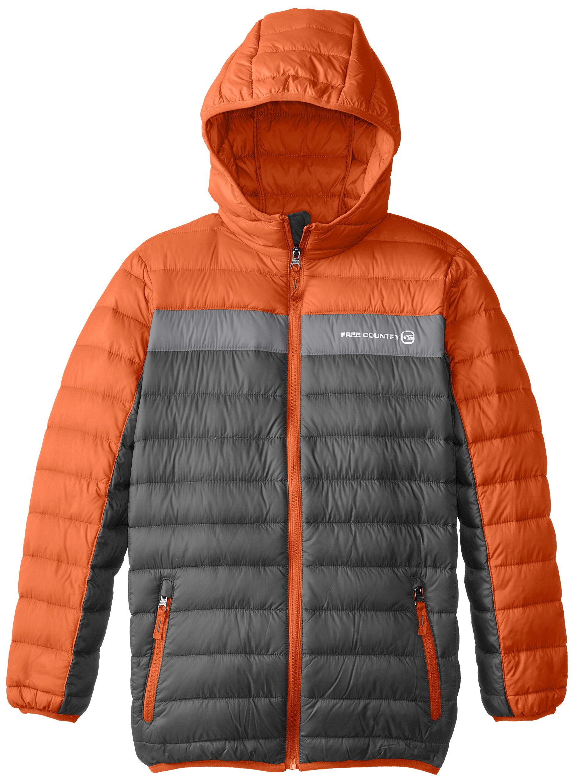 Free country big boys down packable jacket