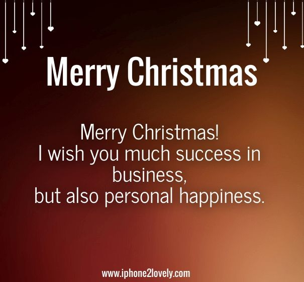 Marvelous Christmas Messages For Boss