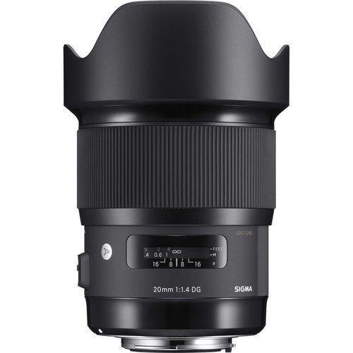 Sigma 20mm F 1 4 Dg Hsm Art Lens For Nikon F International Version No Warranty Art Lens Sigma Lenses Sigma Art Lens