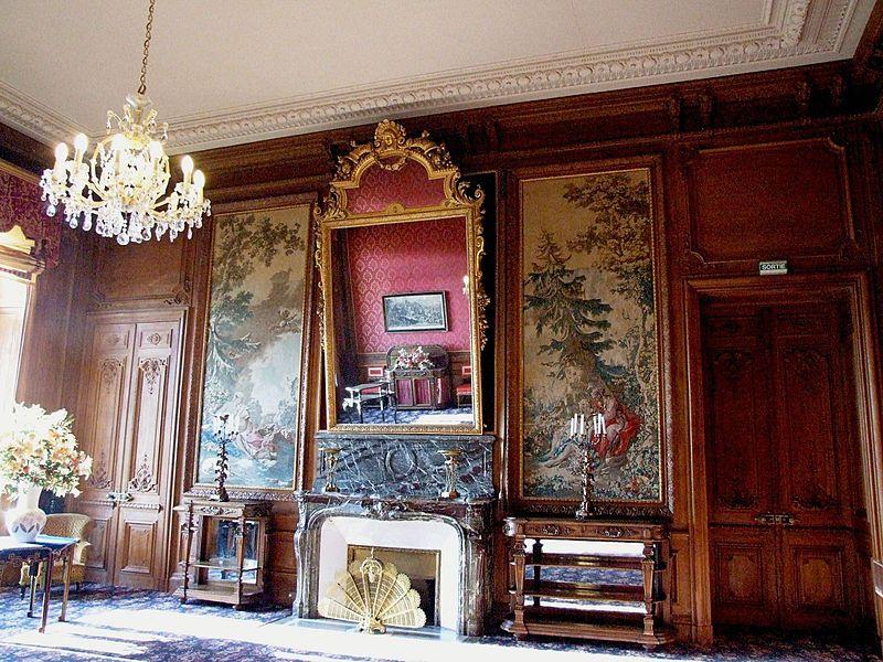 Ferrières-en-Brie - Château de Ferrières - Intérieur - un salon