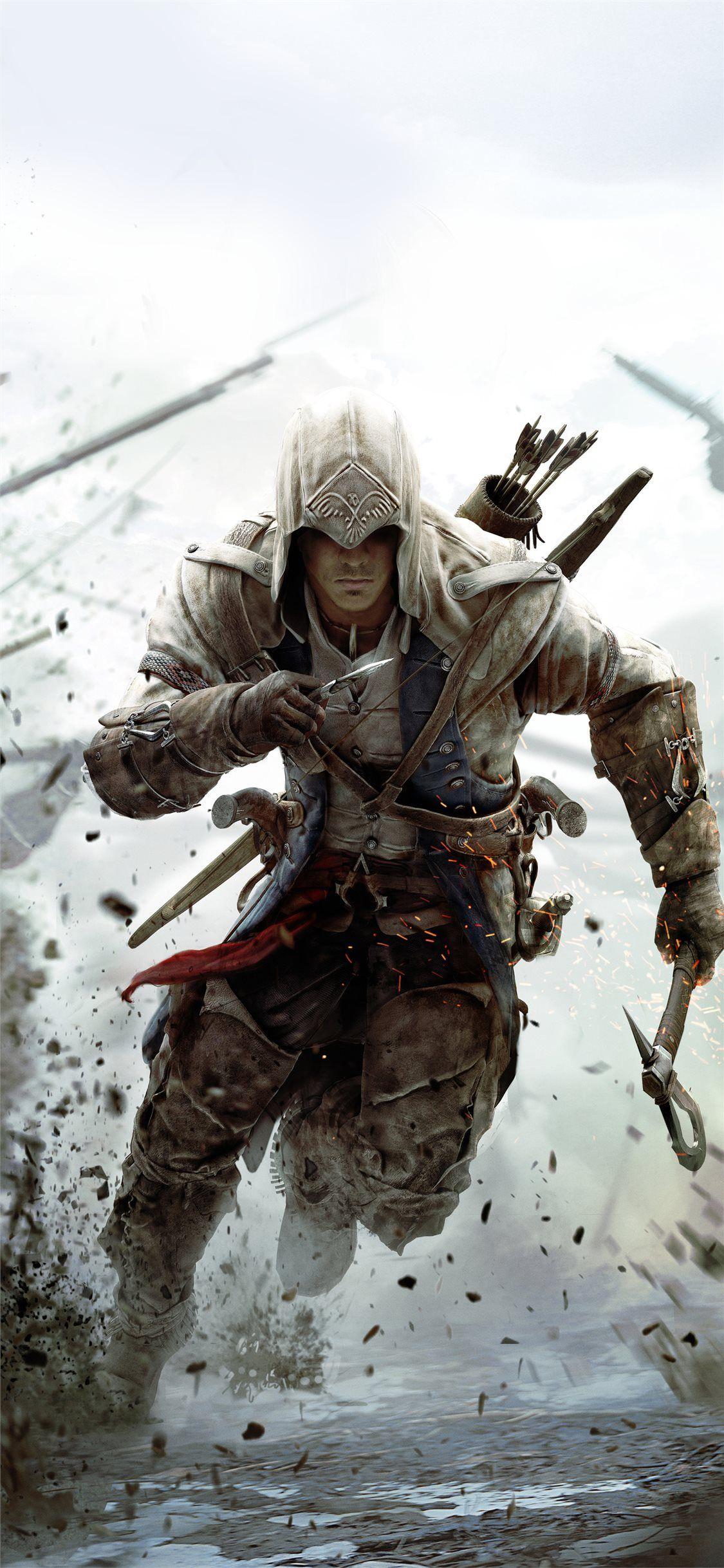 Assassins Creed 3 10k Iphone X Wallpapers En 2020 2160x3840