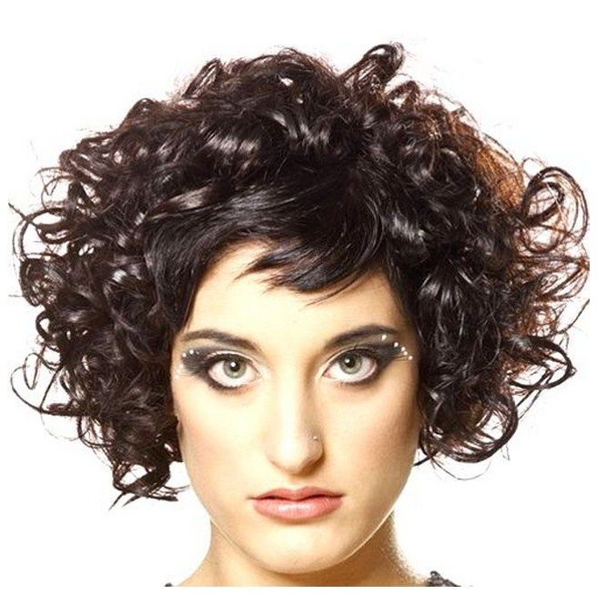 Short Naturally Curly Hairstyles Short Hairstyles For Your Wedding Day Short Short Curly Hairstyles For Women Short Curly Hair Short Curly Hairstyles 2014