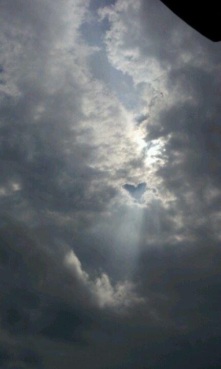 하트 하늘!