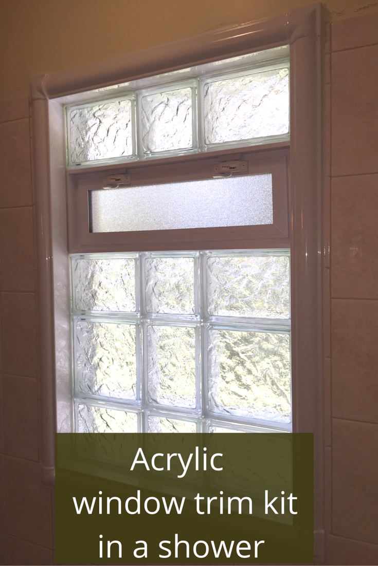 how to get rid of nasty and rotten shower window trim remodeling rh pinterest com