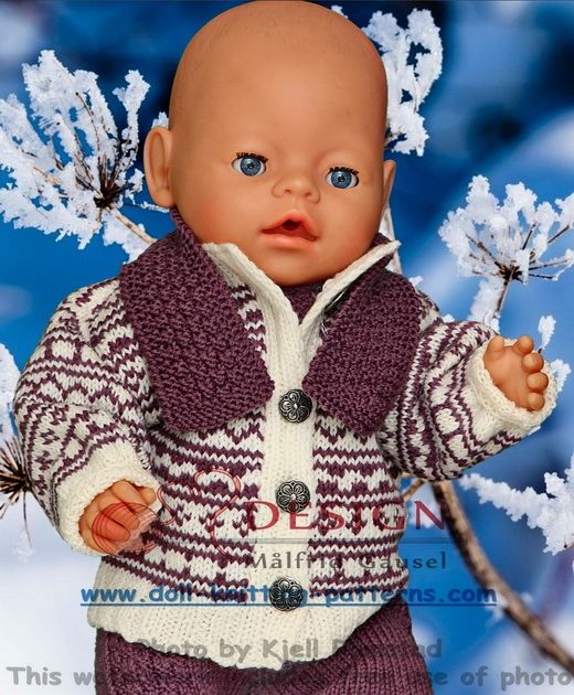 Doll Sweater Knitting Pattern How To Knit A Doll Sweater