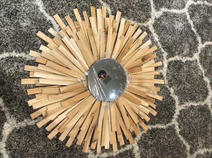 Sunburst Mirror DIY – Cheap and Creative Wall Art with Wood Shims ...