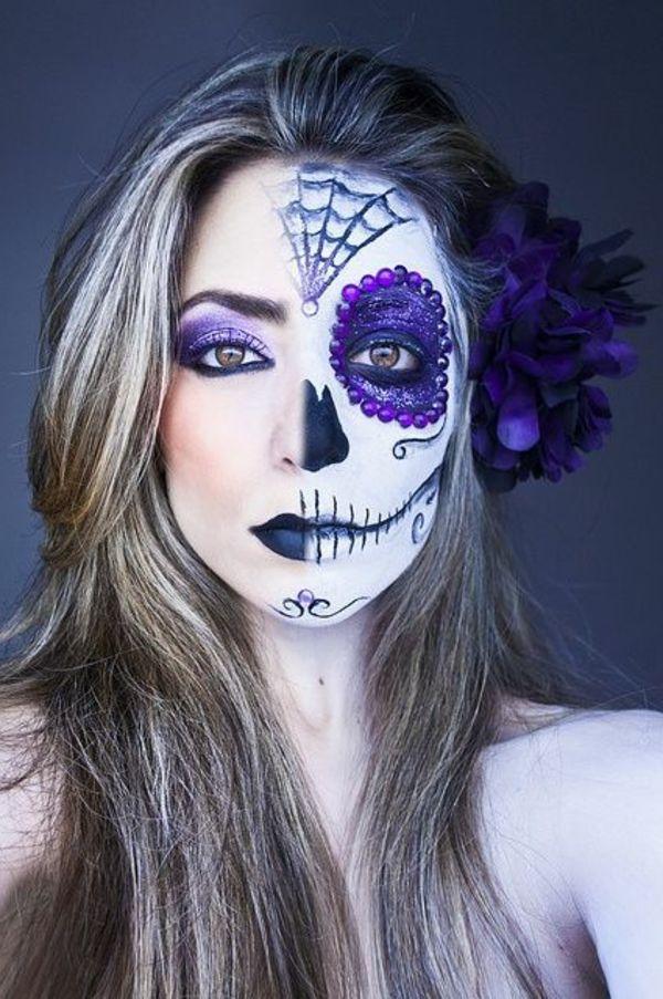 Halloween Schmink Ideen.Coole Halloween Schmink Ideen Halloween Schminken