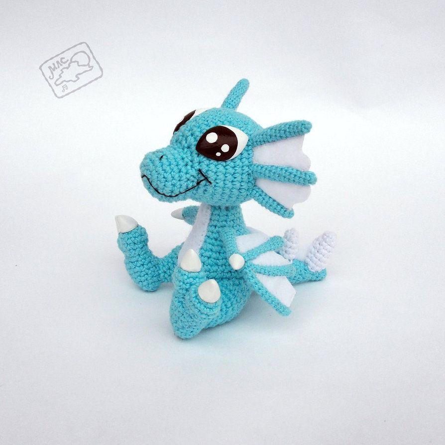 Ice Dragon by theAmigurumer | Amigurumis | Pinterest | Patrones ...