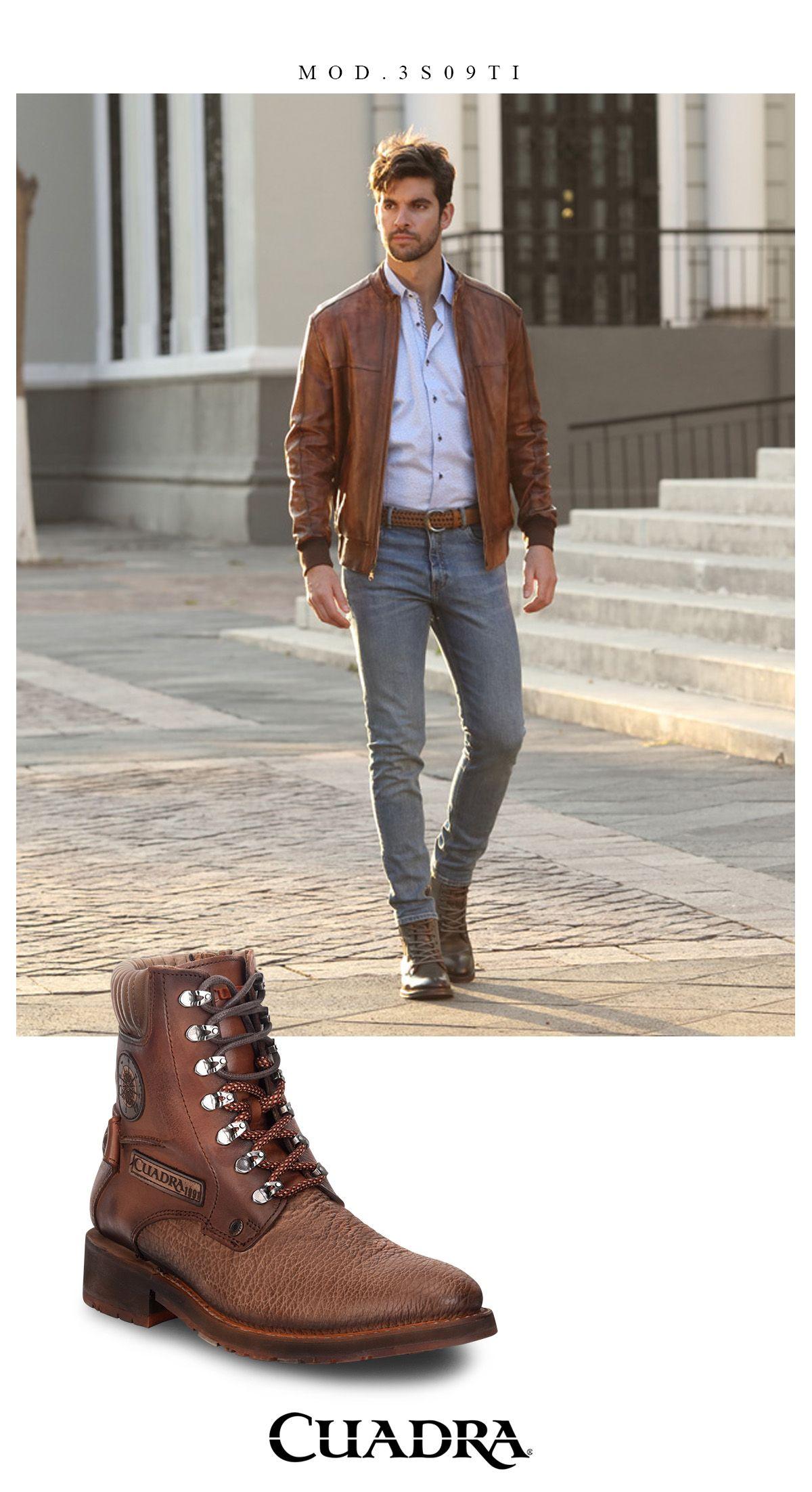 28d7512bd3a La comodidad acompañada de estilo  menstyle  hombre  botas  estilo  fashion   moda  cuadra  shoes  travel  mensfashion