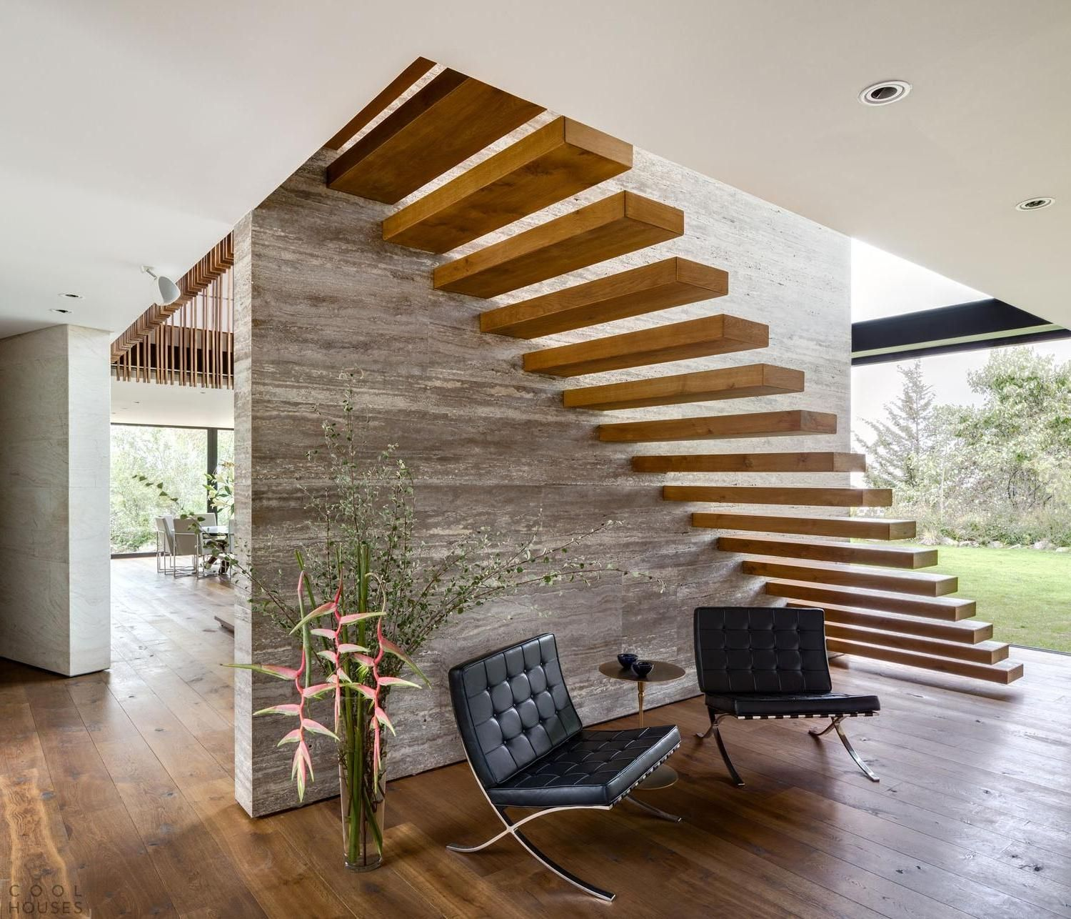 Image Result For Wide Modern Staircase
