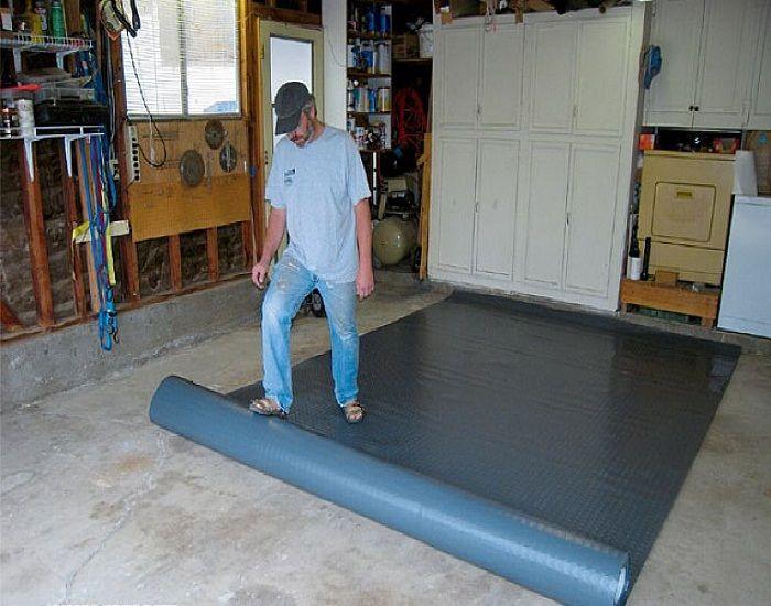 garage floor covering installation. Black Bedroom Furniture Sets. Home Design Ideas