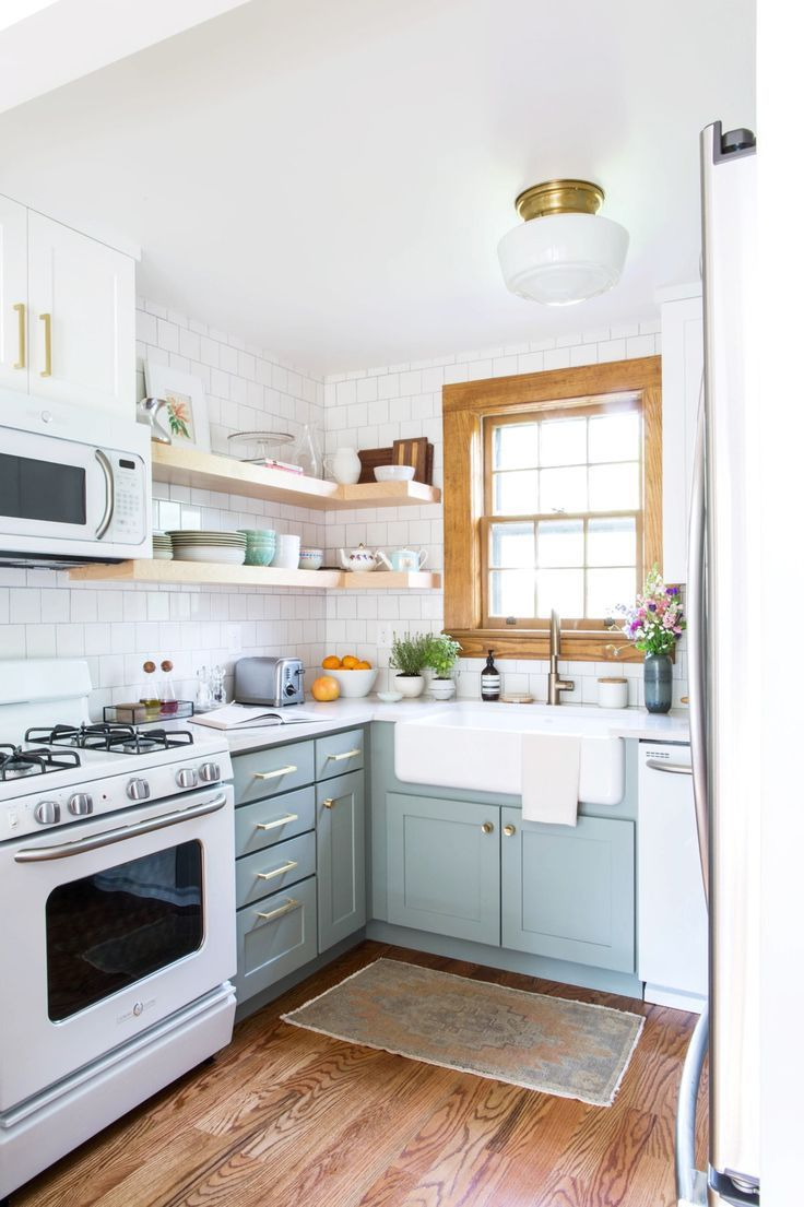 Small Kitchen Design 10x10: The Dreamiest Small Kitchens On All Of The Internet