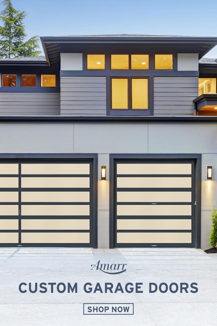 Modern Custom Garage Doors In 2020 Exterior House Siding Garage Doors Carport Designs