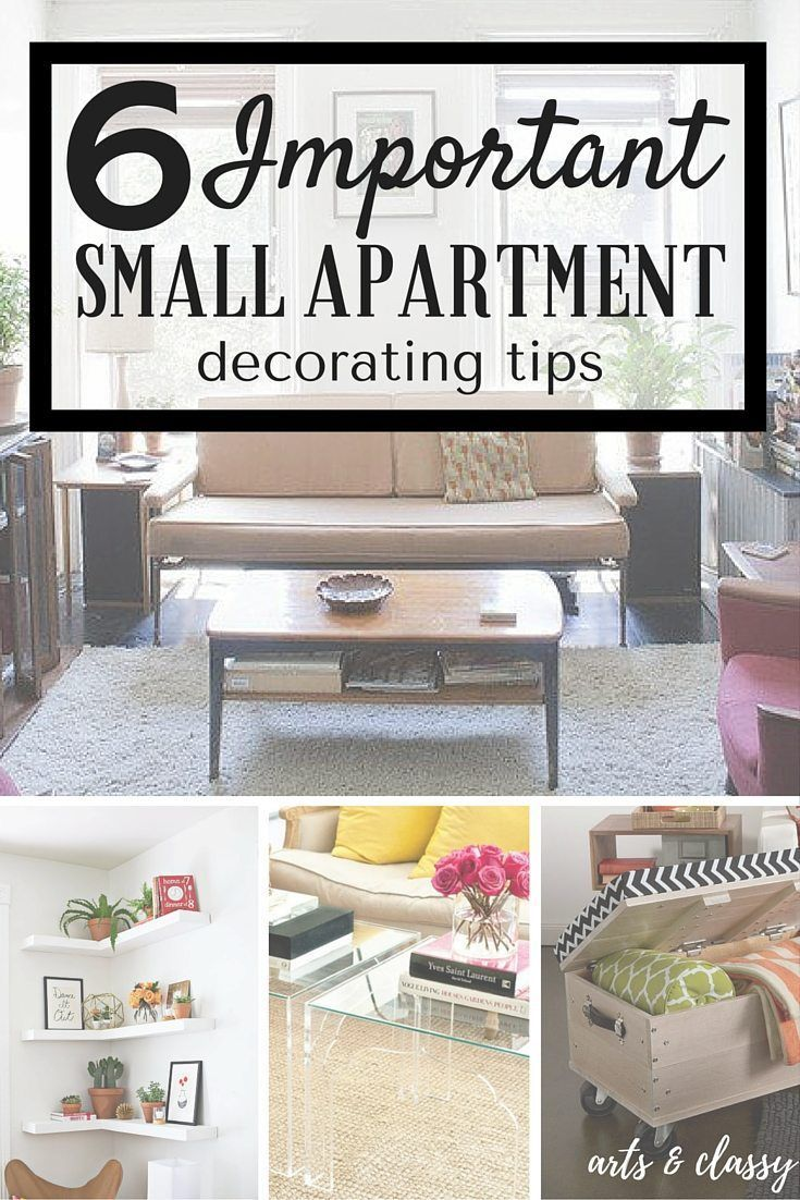6 important small apartment decorating tips diy home decor