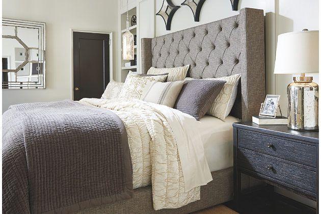 upholstered bedroom sets. Master bedroom  Sorinella King Upholstered Bed Ashley Furniture HomeStore