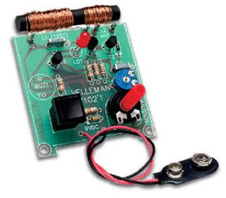 Schema Elettrico Per Metal Detector : How to make a homemade metal detector kit geeky stuff metal