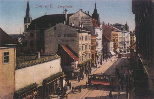 Landstraße, Mozartkreuzung