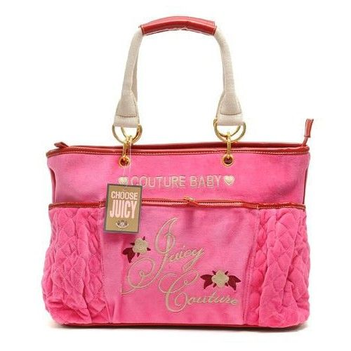 Juicy Couture Purses | Home :: Juicy Couture Diaper Handbags :: Juicy Couture Diaper Terry ...