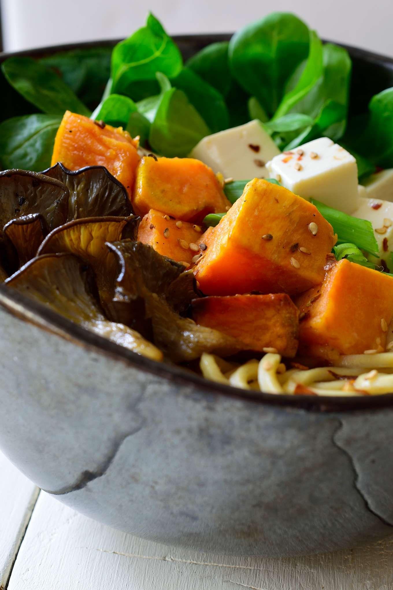Vegan Mushroom Ramen Soup   Cilantro and Citronella ...