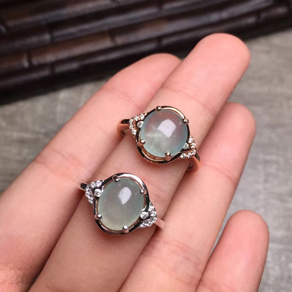 Find More Rings Information about gems 8*10mm 100% Natural china ...