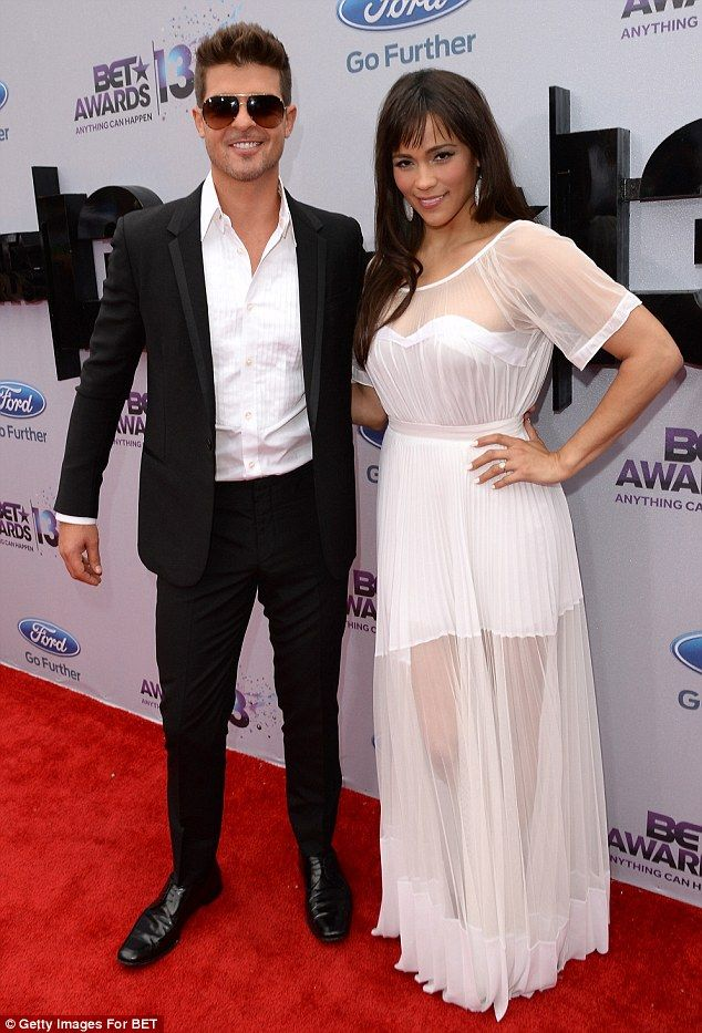 Robin thicke on bet awards bet on now