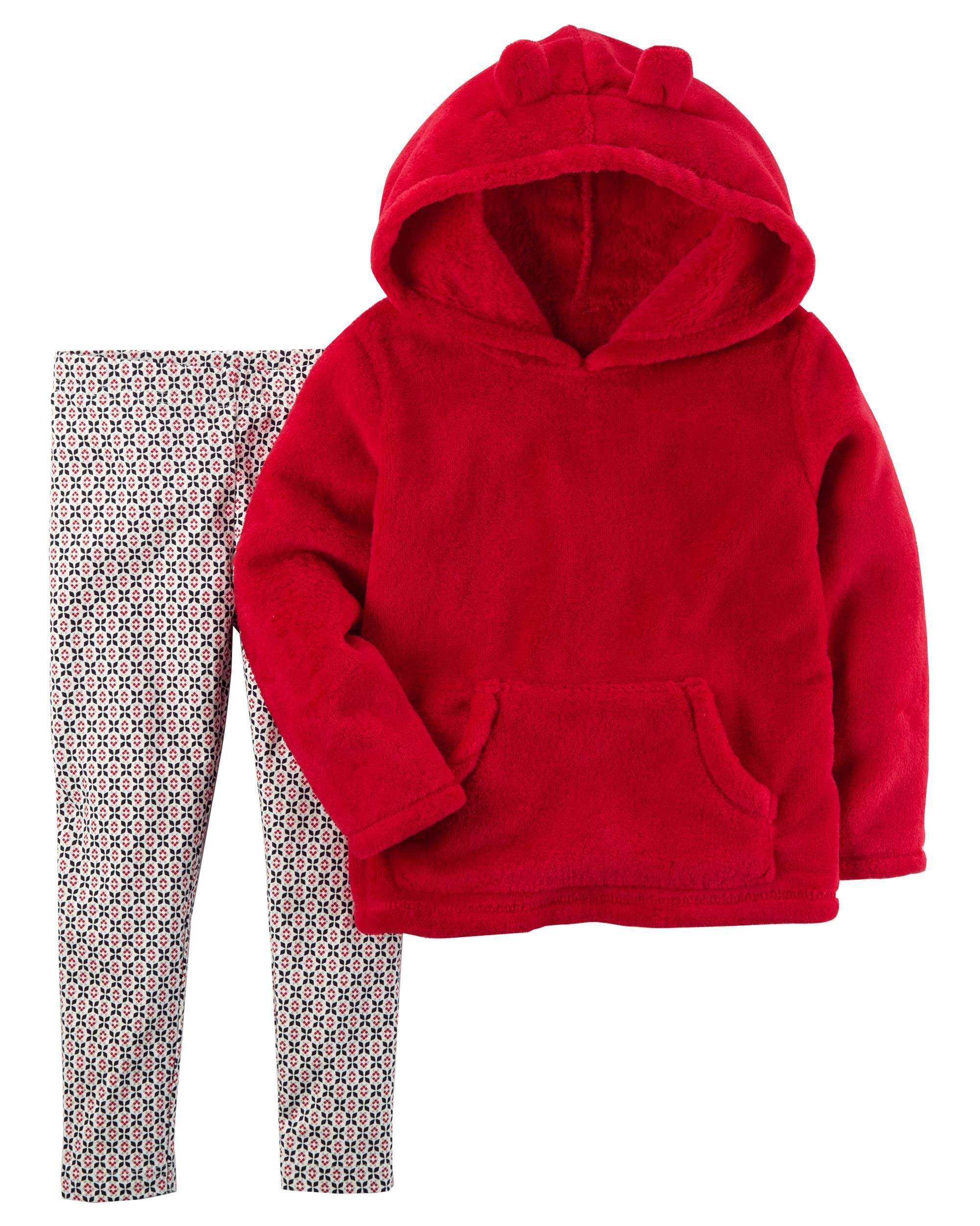 Piece pullover u legging set matching outfits toddler girls and
