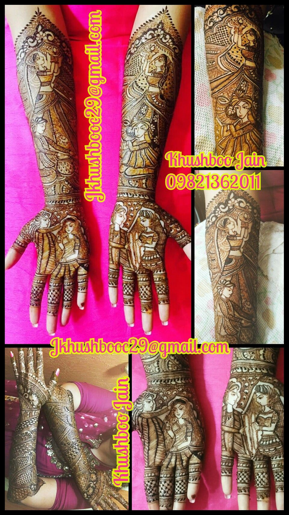 Pin by Khushboo Jain on Khushboo Mehandi Henna hand