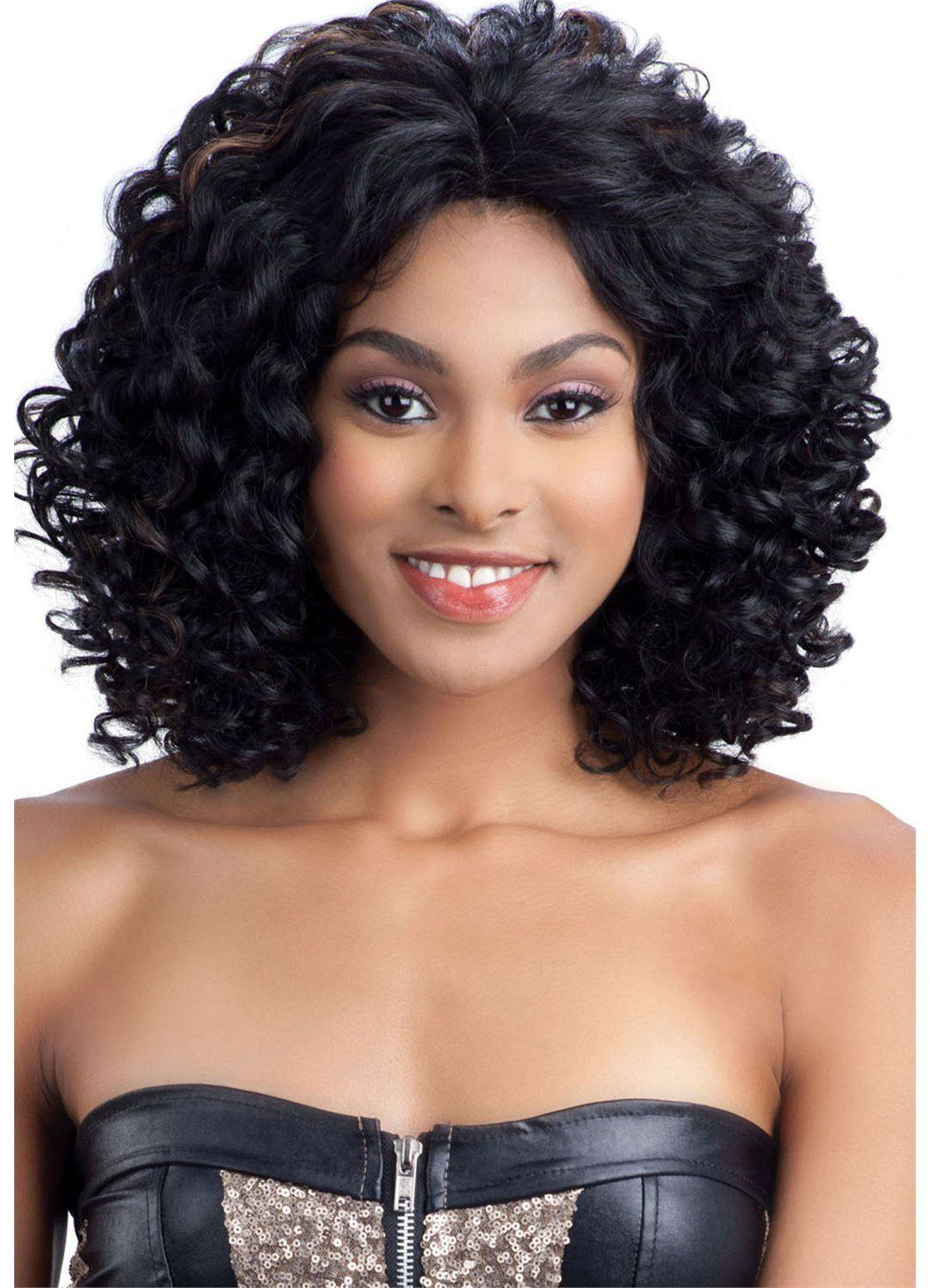 Model Model (3 Way Lace Part) Lace Front Wig KINZY OM279
