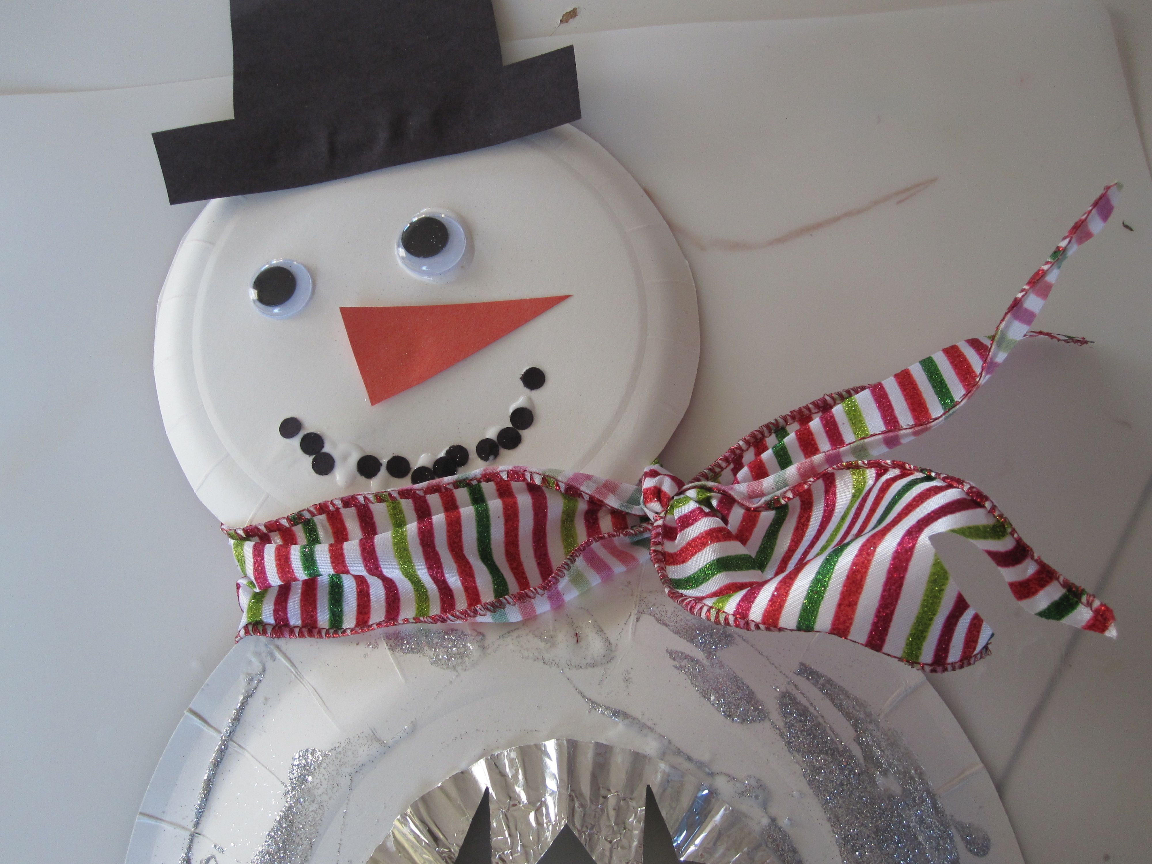 Snowflake snowman craft snowman crafts snowman and paper plate snowflake snowman craft paper plate jeuxipadfo Gallery