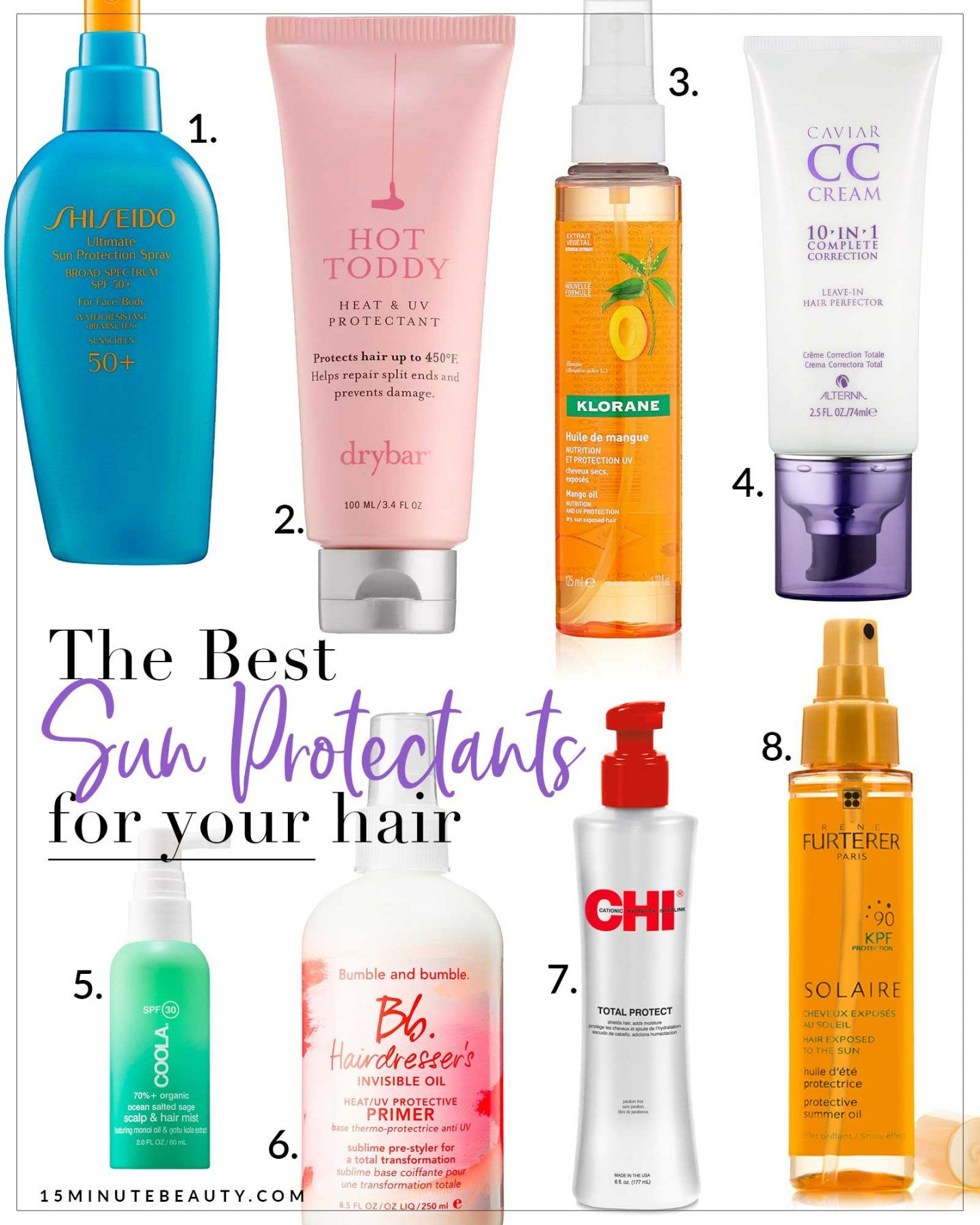 The Best Sunscreens For Hair