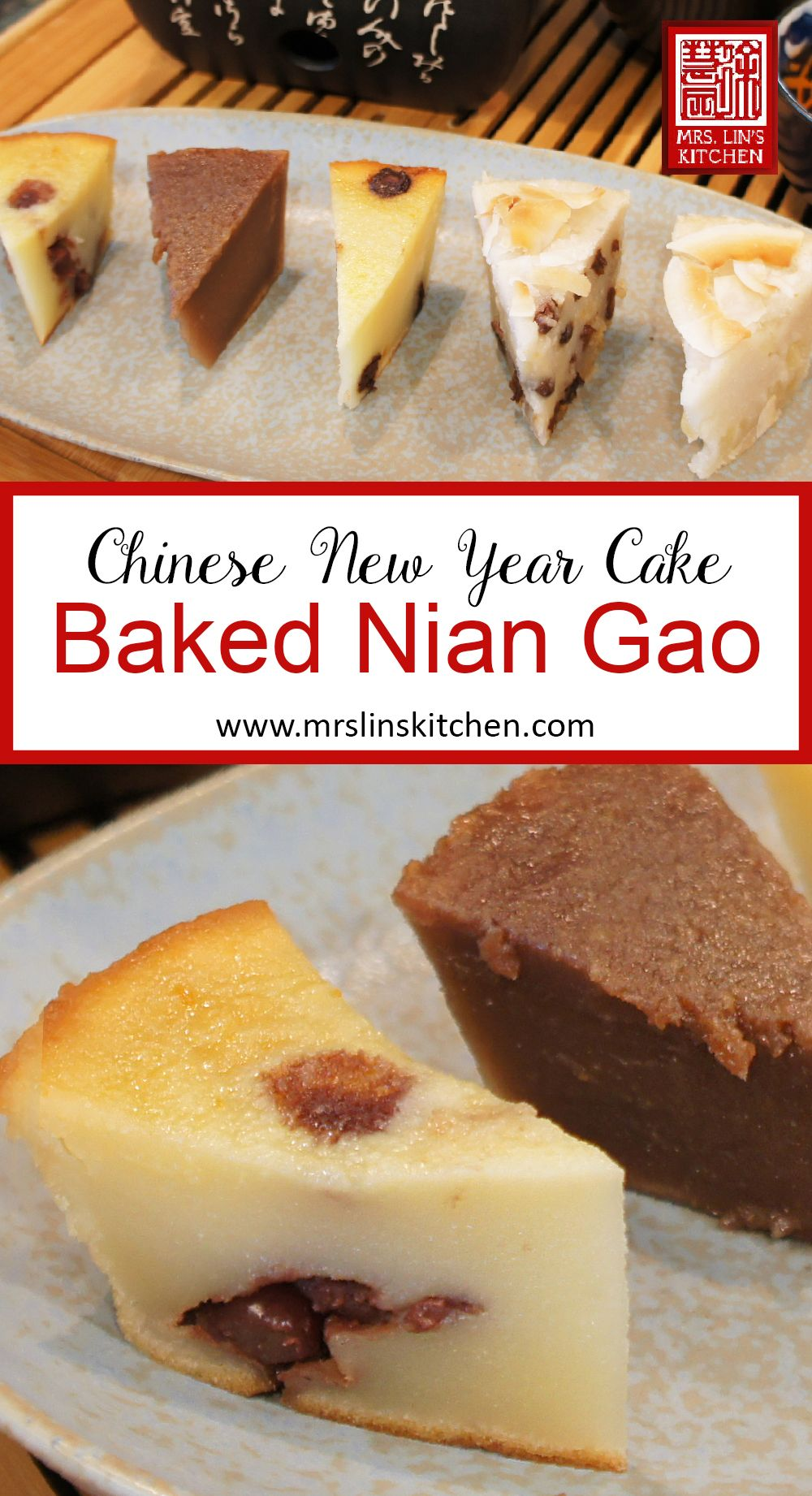 Nian Gao Is A Soft Chewy And Sticky Rice Cake Which Is Made Of Glutinous Rice Traditionally Nian Gao Is Steamed Or Fried W Nian Gao Taiwanese Food Milk Cake