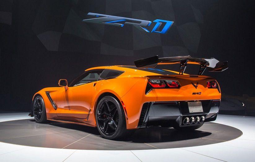 2019 Corvette Zr1 Sebring Orange Design Package Corvette Zr1