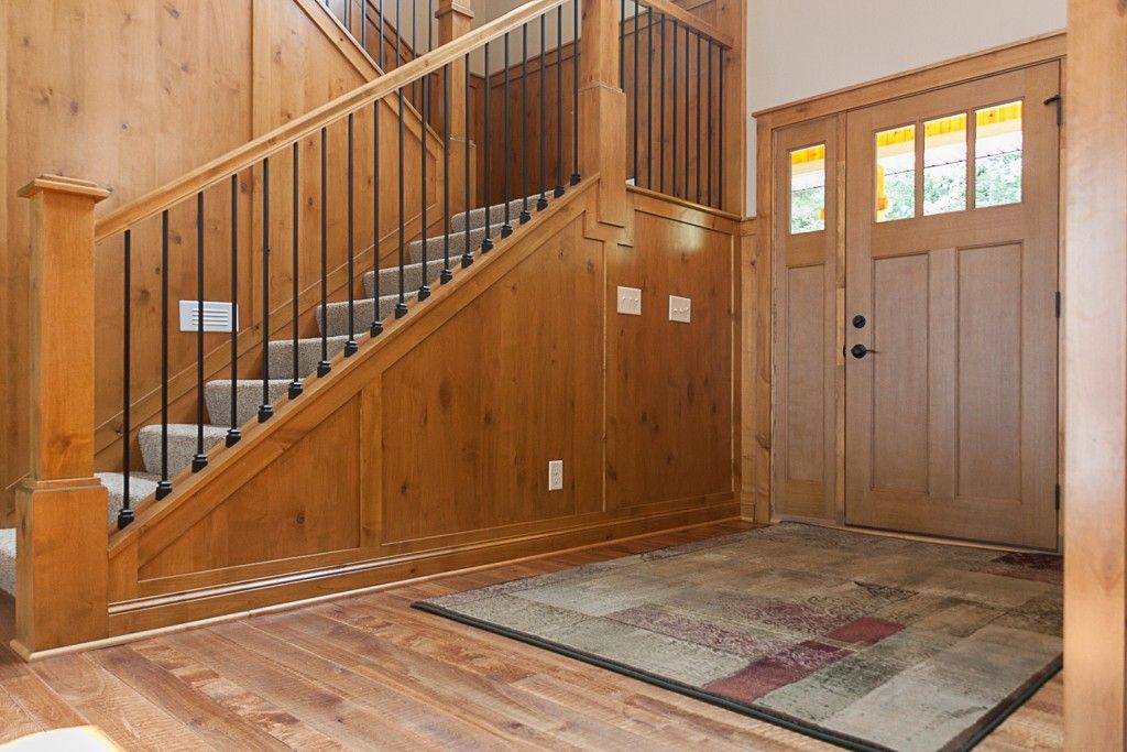 Best Wrought Iron Spindles Alder Railing And Wainscoting In 400 x 300