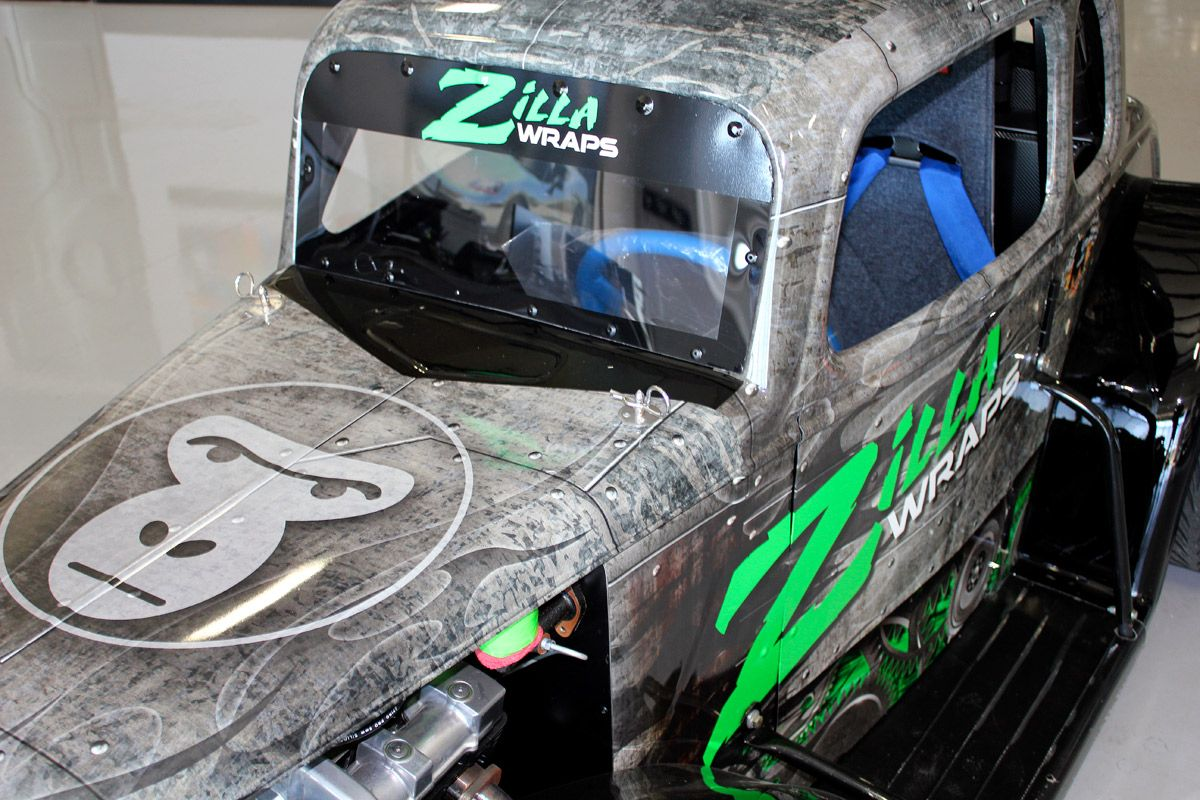 Custom Race Car Wrap Dallas Zilla Wraps Car Wrap Wraps Vinyl Wrap