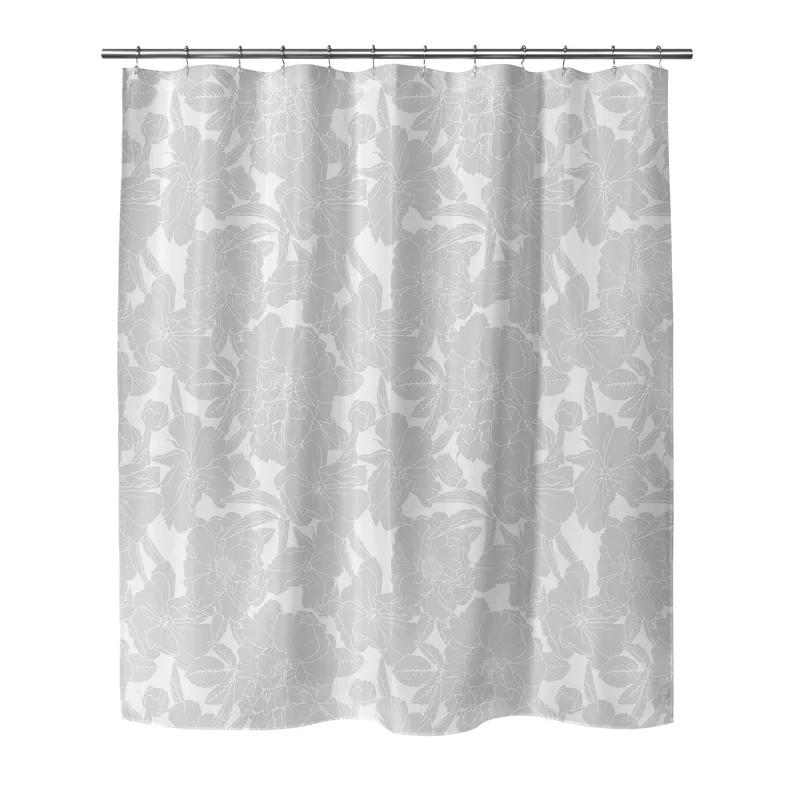 Mandujano Flower Power Single Shower Curtain Flower Power