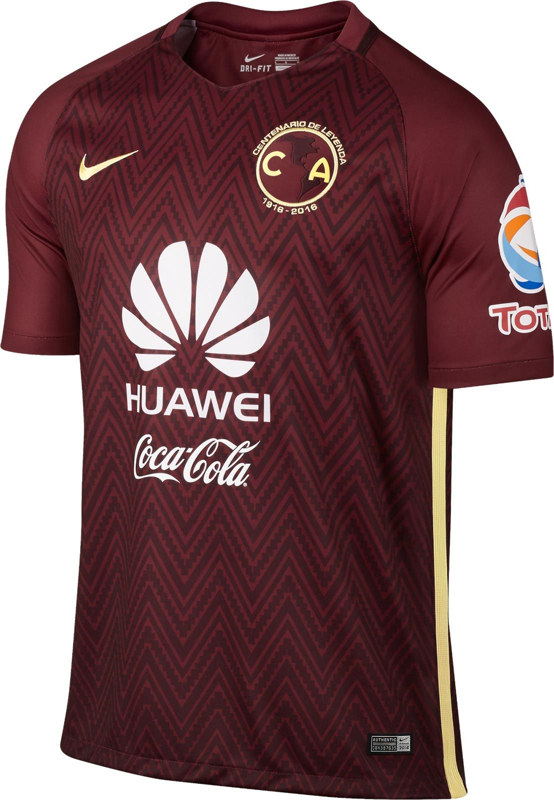 The new Club America 2016 centenary kit introduces a stunning look to the  celebrate the Mexican giant s 100th anniversary. 9e611035ca3d
