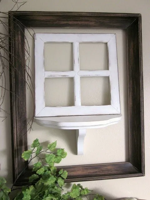 Reuse And Recycle Decorations With Old Wood Window Pane 33 Designbyus Net Recycled Decor Paint Sticks Projects Painted Sticks