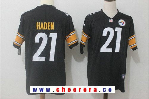 1791546f89a Men s Pittsburgh Steelers  21 Joe Haden Black 2017 Vapor Untouchable  Stitched NFL Nike Limited Jersey